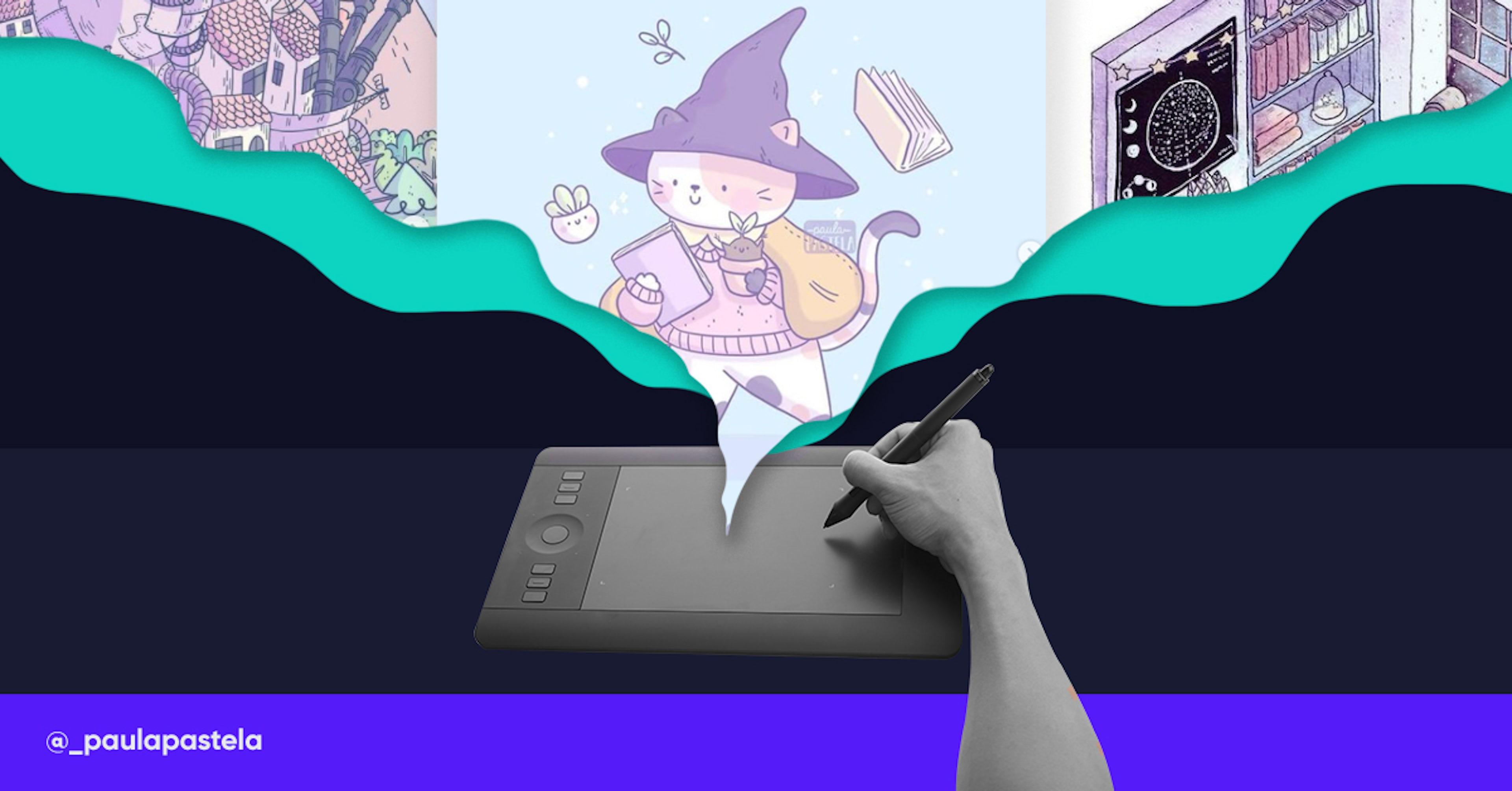 5 cursos de ilustración digital que le darán vida hasta a tu amigo imaginario