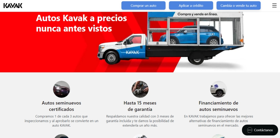 Kavak startup México