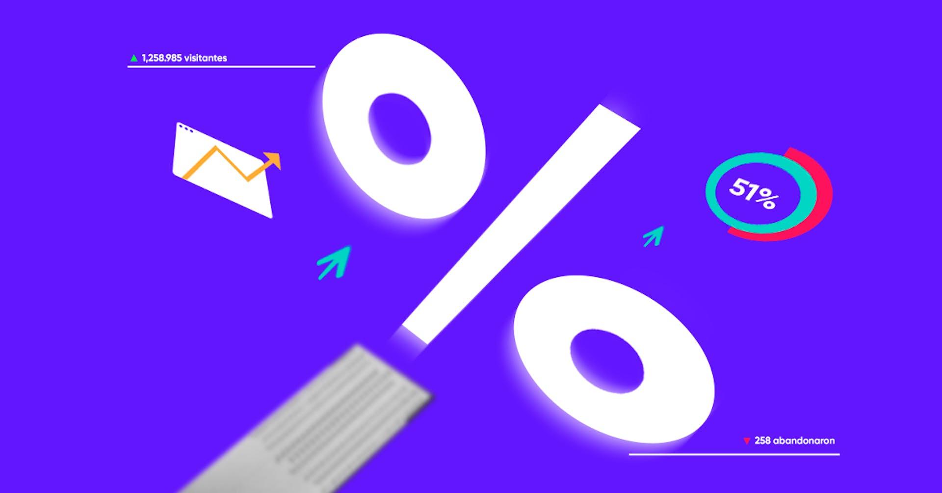 Analiza el porcentaje de rebote y evita que los usuarios abandonen tu web