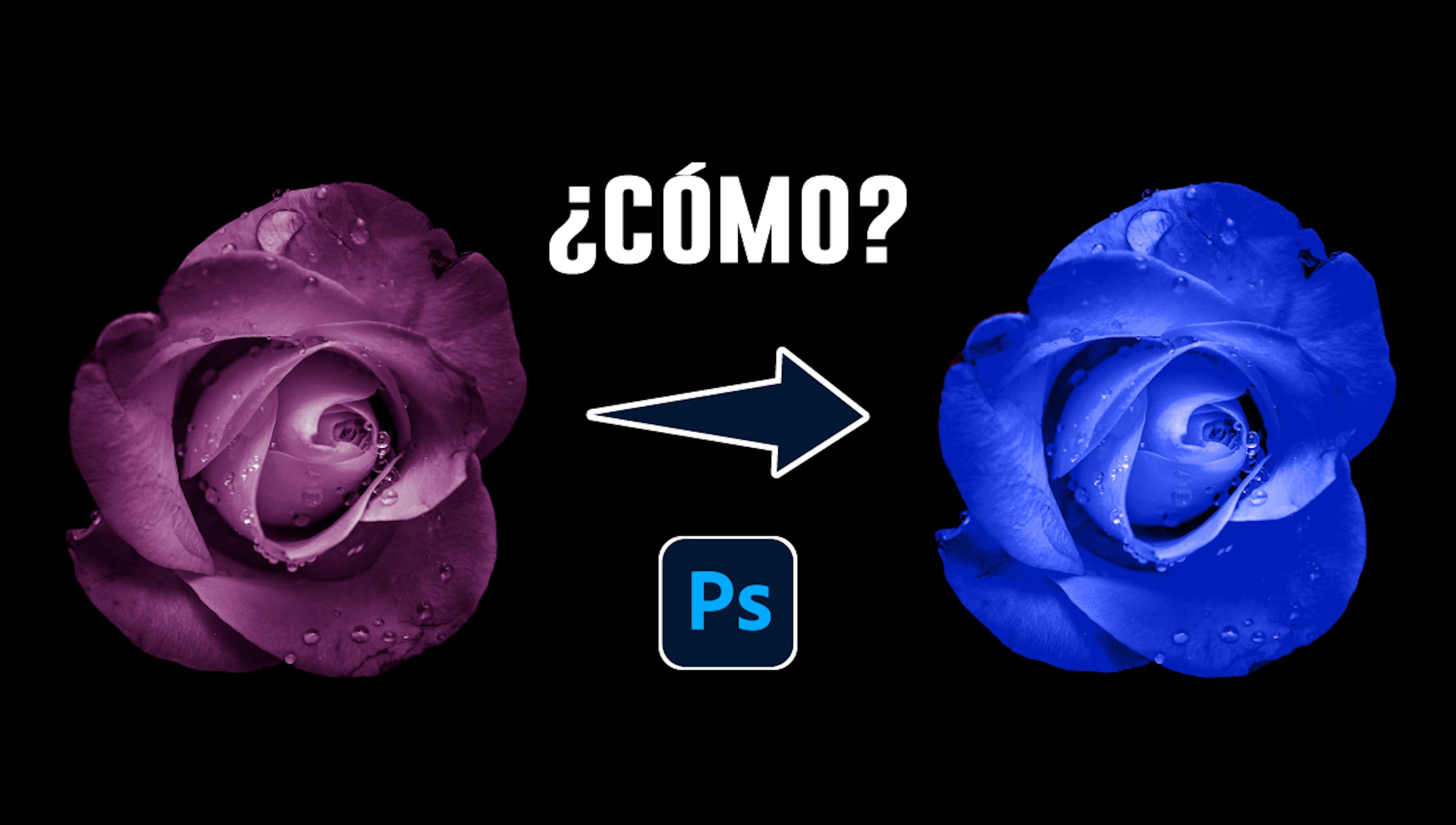 4 formas de cambiar el color de una imagen en Photoshop que darán un nuevo look a tus fotos