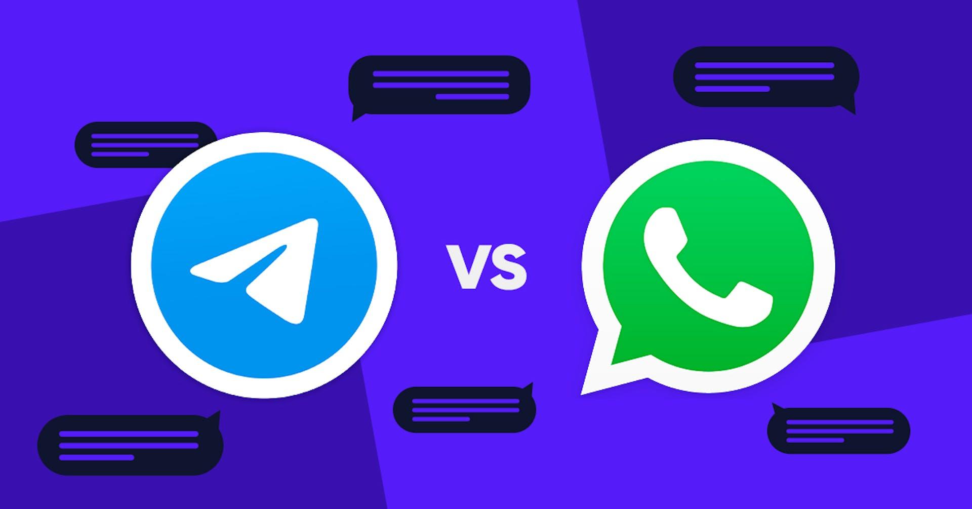 WhatsApp vs. Telegram ¡Duelo de titanes!