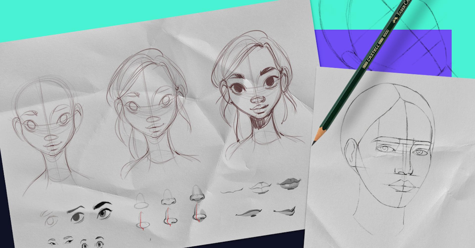 ¿Cuáles son los pasos para dibujar un rostro? Guía para dominar los mejores trazos
