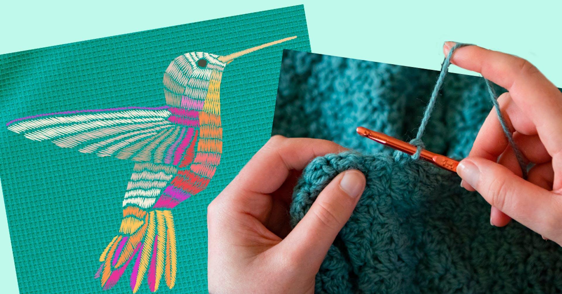 Lo tradicional está de vuelta: ¿Crochet o bordado?