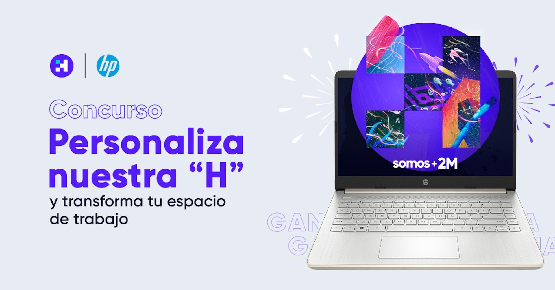 Concurso #Crehana2M: ¡Personaliza nuestra H!
