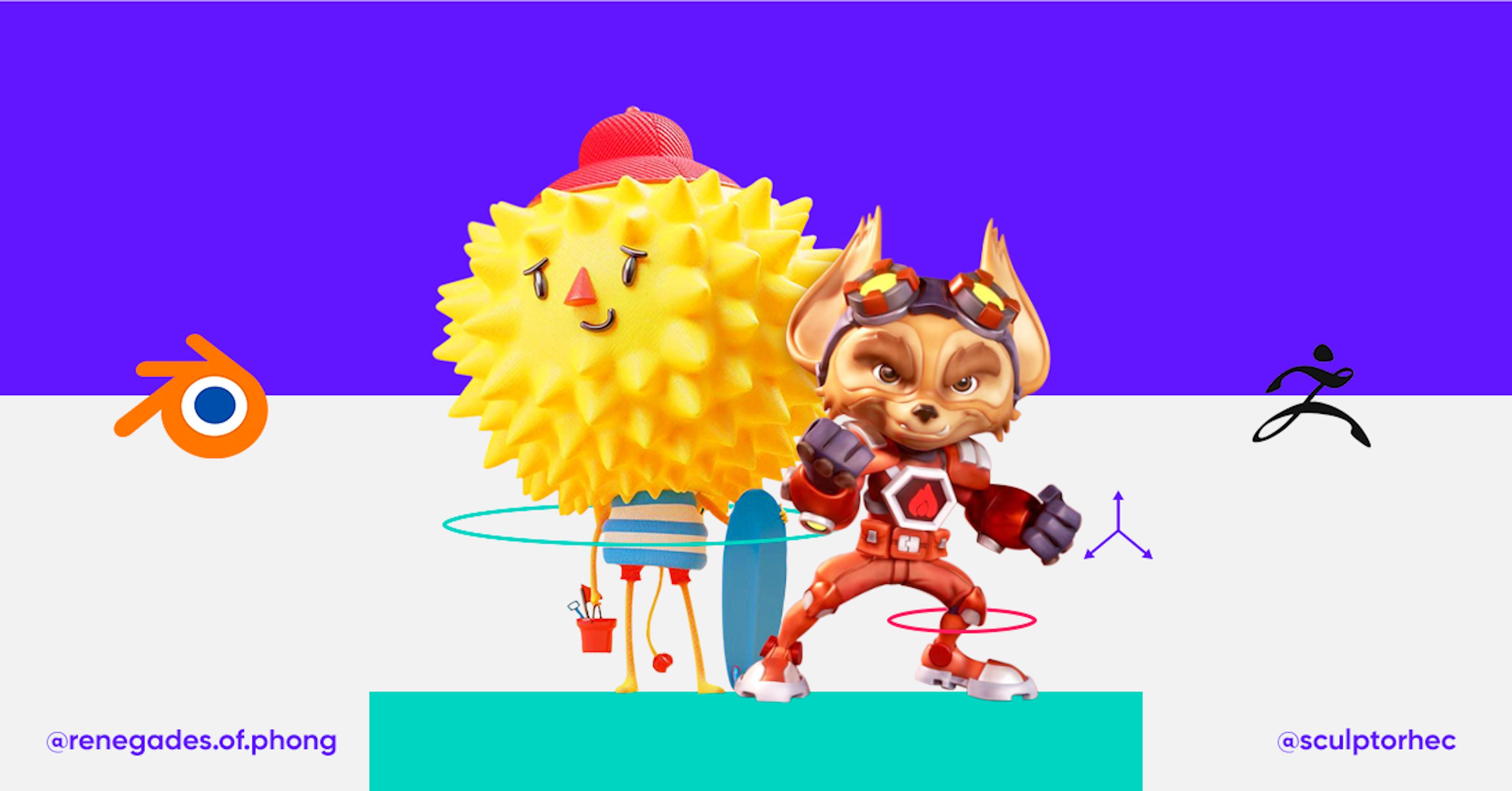 Versus de 3D: ¿Qué diferencias hay entre Blender vs Zbrush?