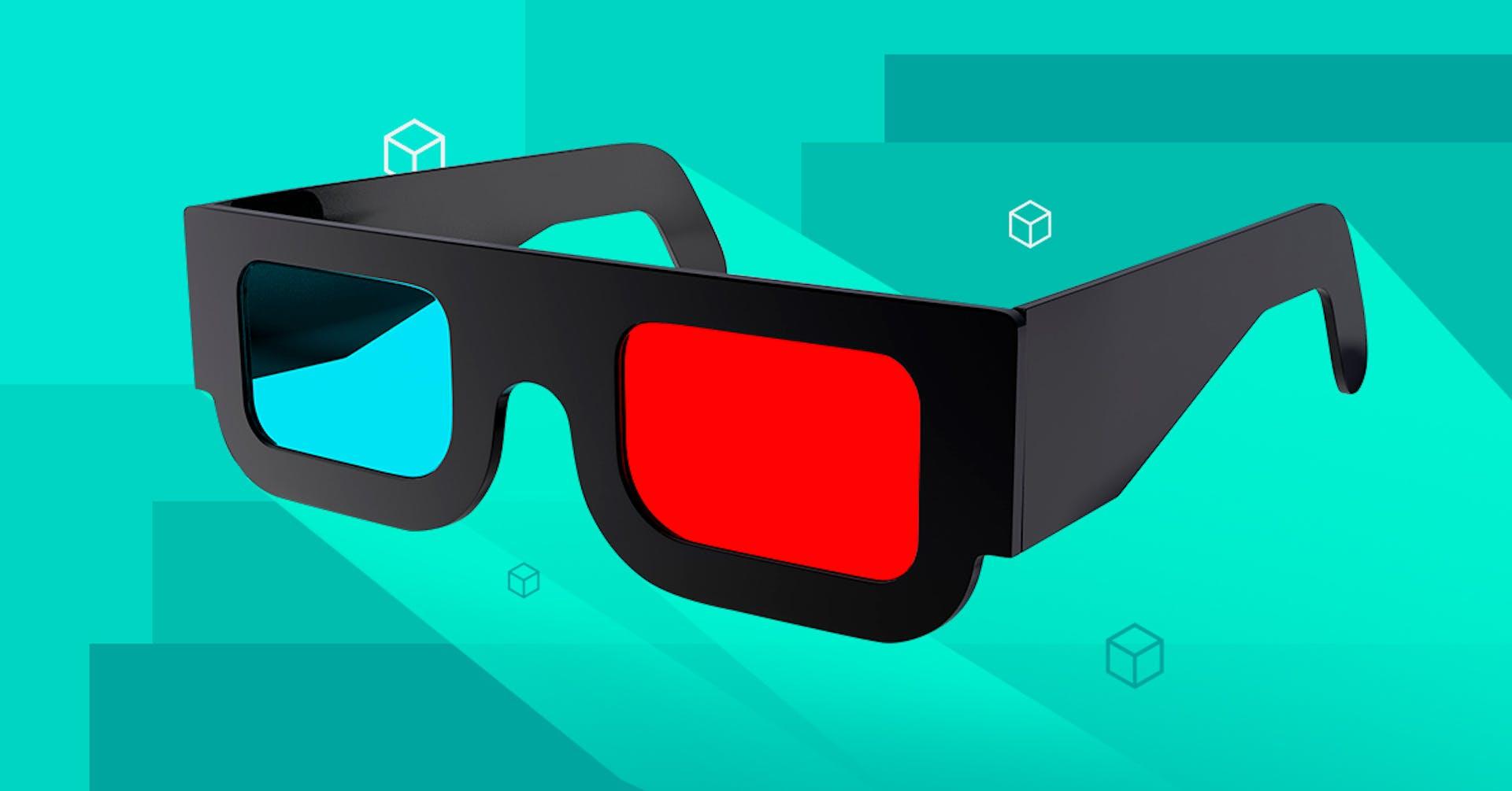 ¿Cómo hacer lentes 3D en casa y no extrañar ir al cine?