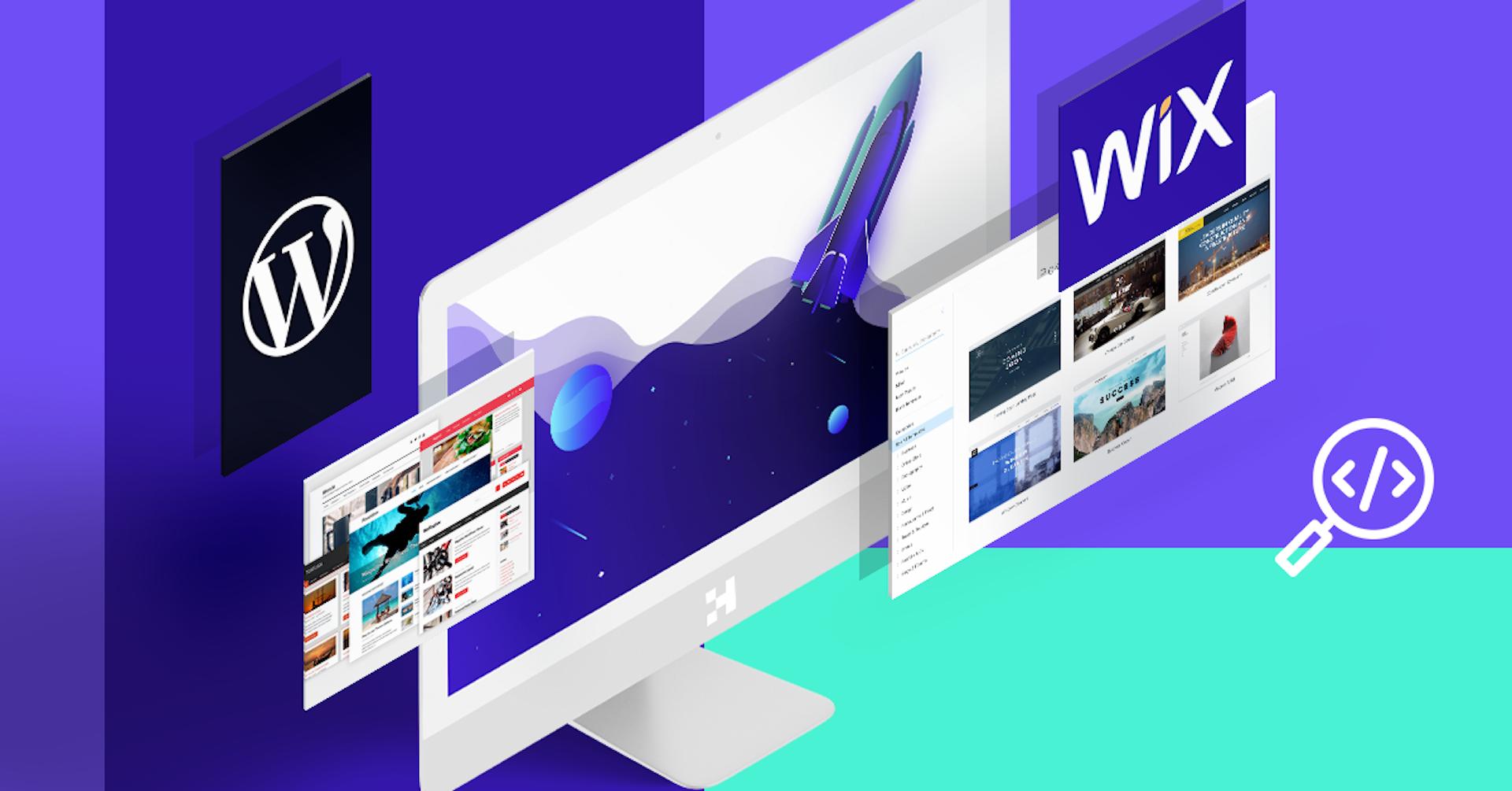 WordPress vs. Wix: ¿Con cuál crear una web si no sé programar ni mi alarma?