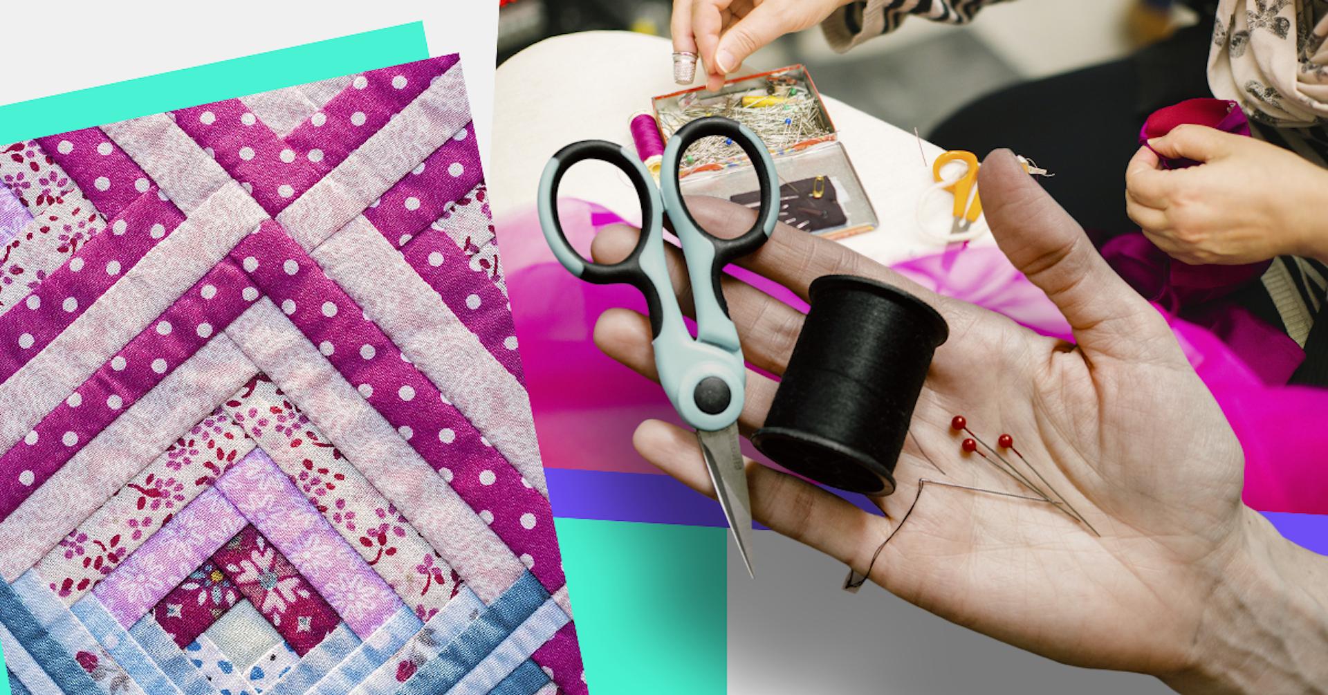 ¿Cómo hacer patchwork? Dale una segunda vida a tus retazos de tela