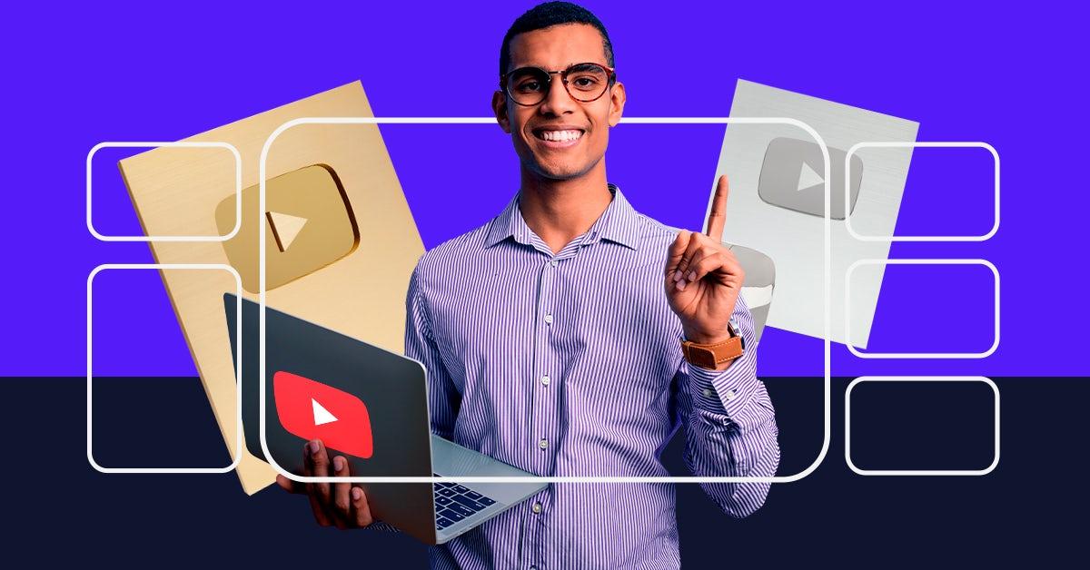 Características de un youtuber: Consigue tu placa de YouTube este 2021