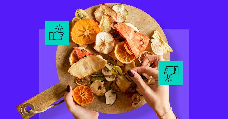 ¿Quieres conservar tu comida de manera sana? Descubre las ventajas y desventajas de la deshidratación de alimentos
