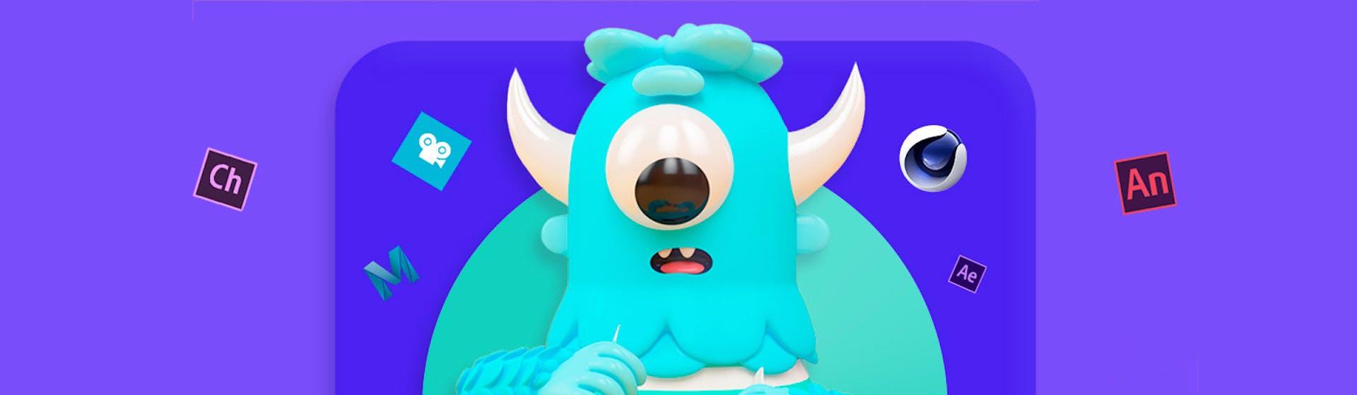 +10 software de animación 2D y 3D para hacer realidad las ideas guardadas en tu mente