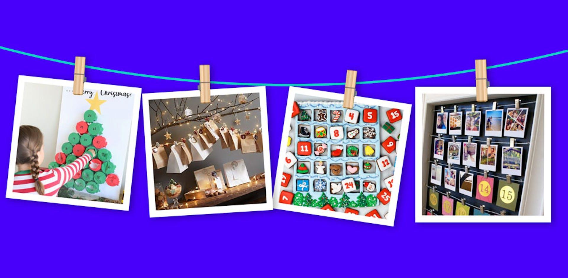 ¡Calendario de navidad para una divertida espera!