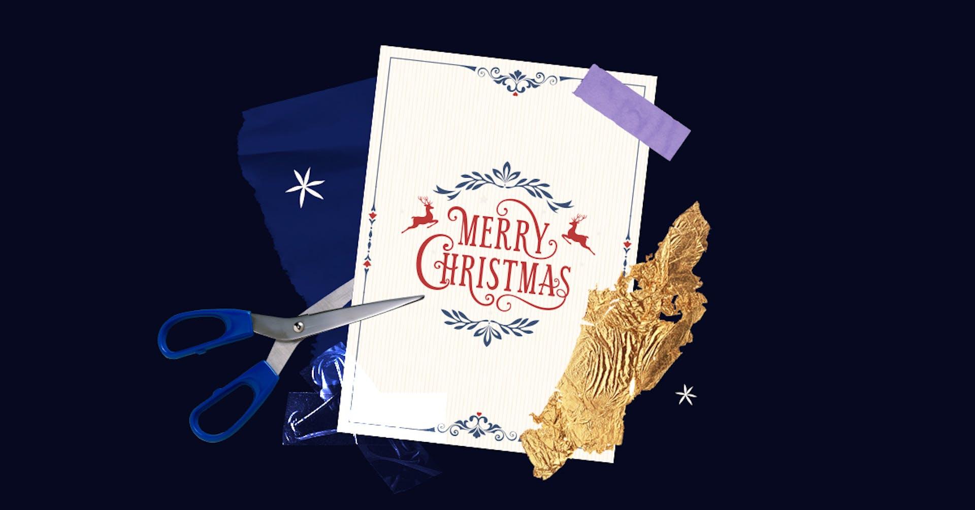 Cómo hacer tarjetas de navidad que hasta Santa te compraría, con estas herramientas