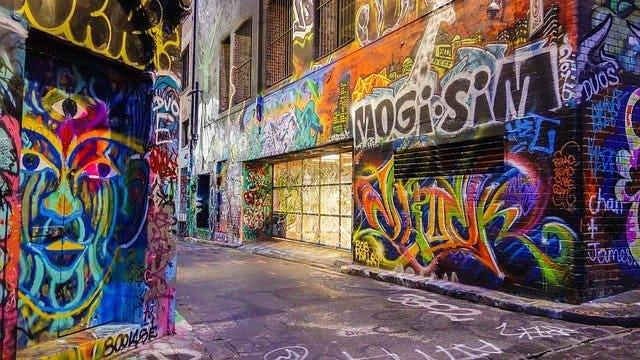 cómo hacer graffitis aprender técnicas