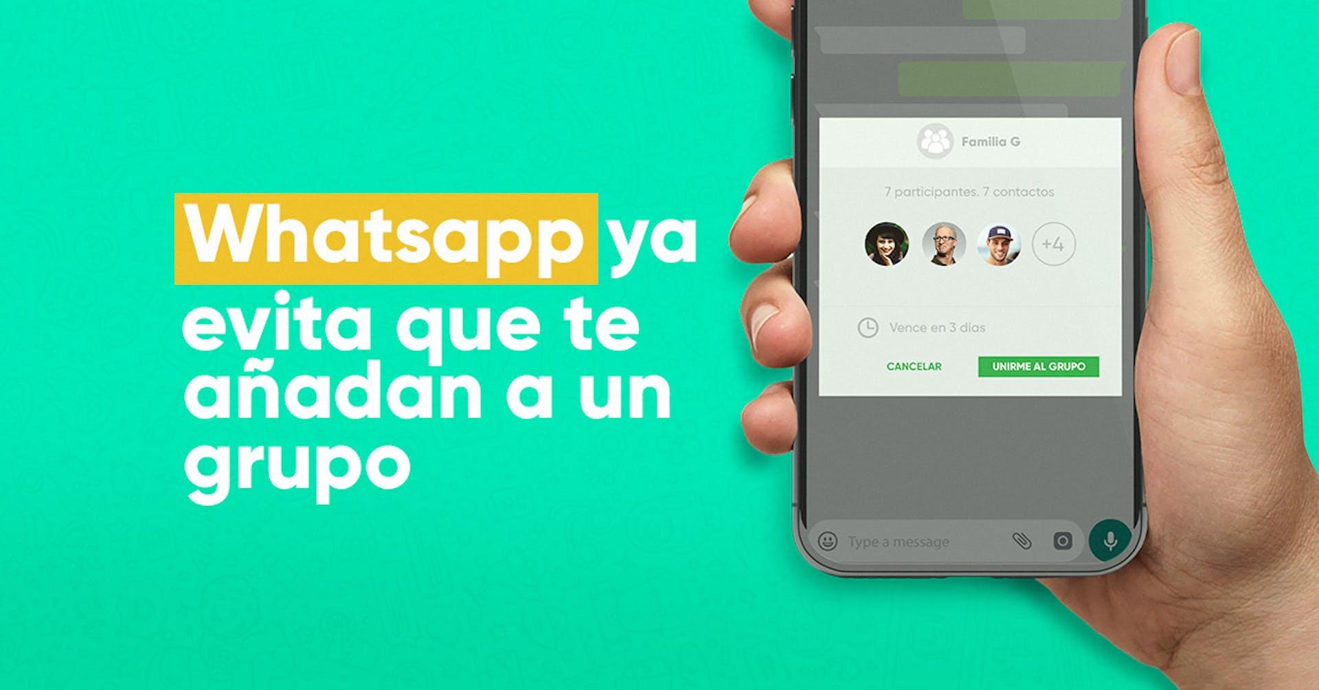 Ya podrás controlar en qué grupos de Whatsapp deseas estar