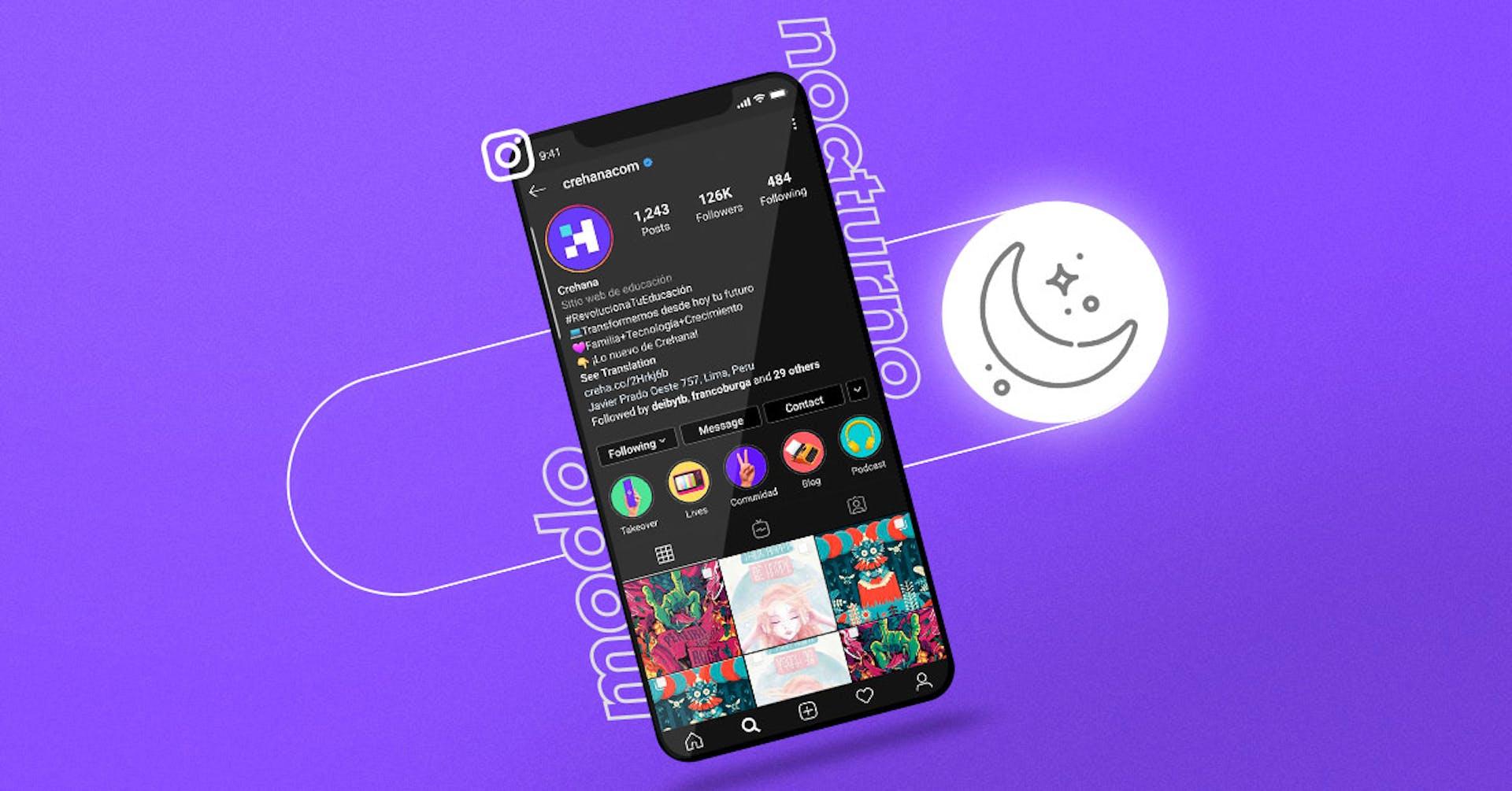 Instagram ya cuenta con modo nocturno para Android. Así lo activas