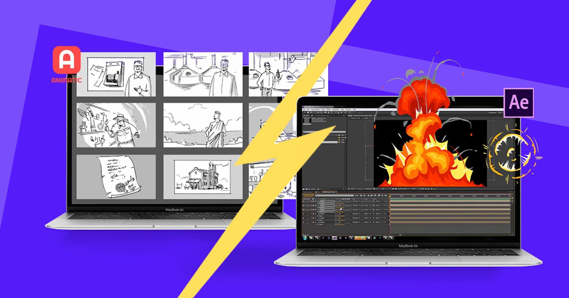 After Effects: Animatic e outras alternativas de programas de animação.