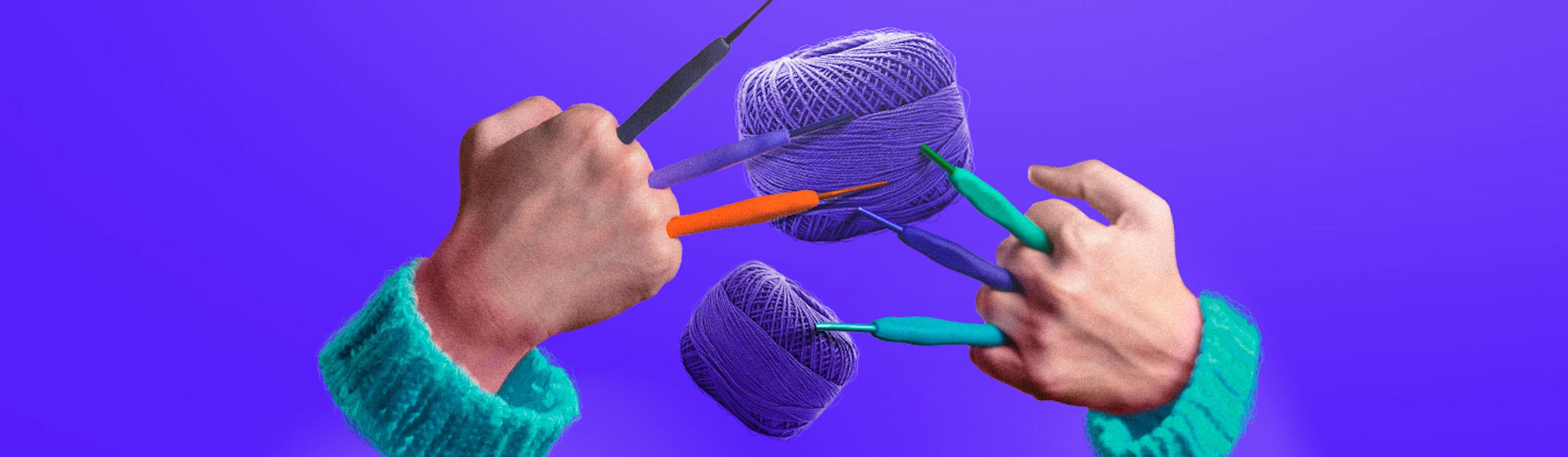 ¿Agujas para crochet? Conócelas y teje tu primer emprendimiento
