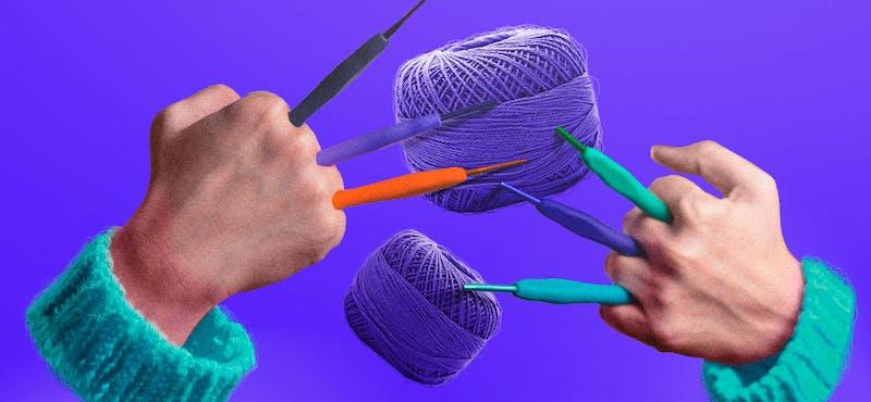 Conoce todo sobre las agujas para crochet y evita los errores de principiante