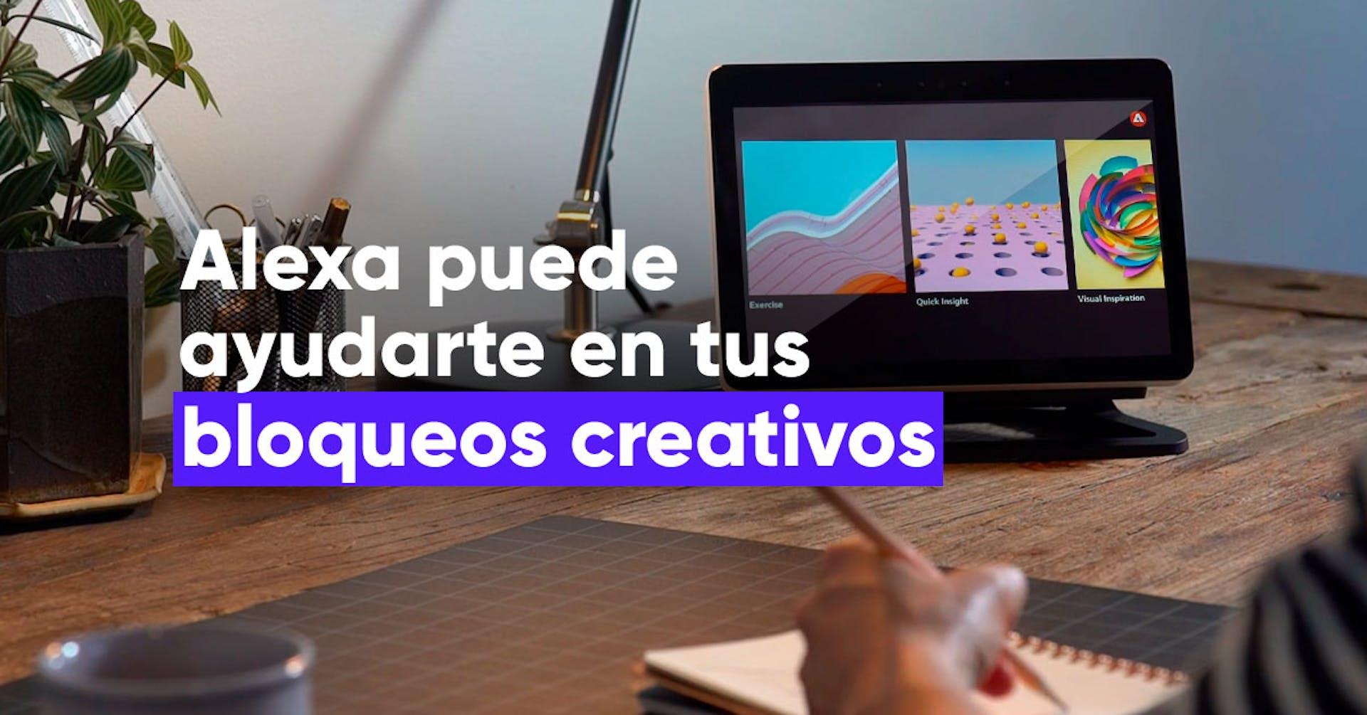 ¿Bloqueos Creativos? Adobe presenta una nueva función de Alexa para inspirarte