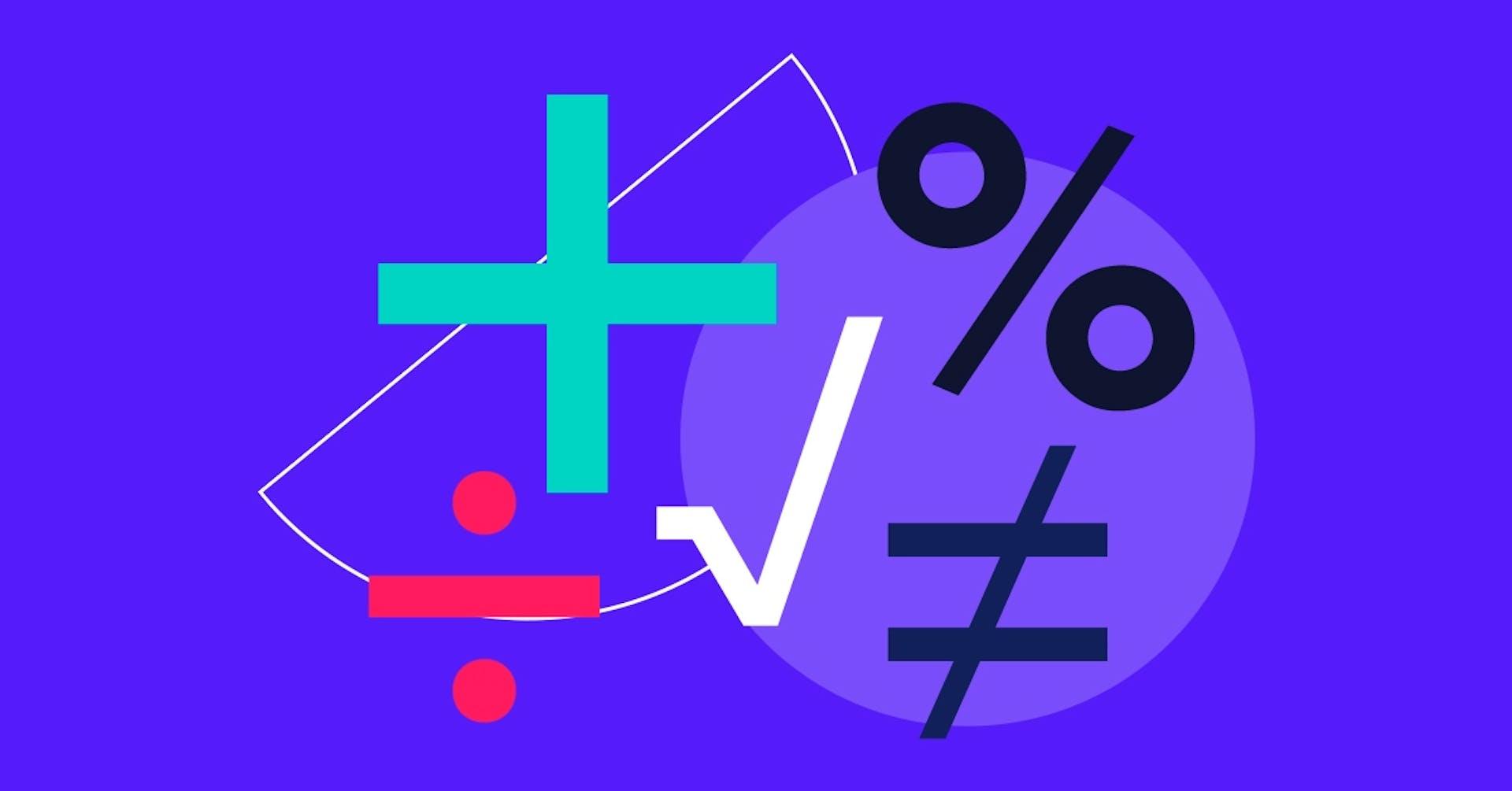 ¿Cuáles son los signos de matemáticas? Conócelos y evita errores en tu negocio