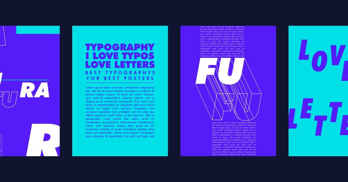 Descubra as 15 melhores letras para cartazes publicitários