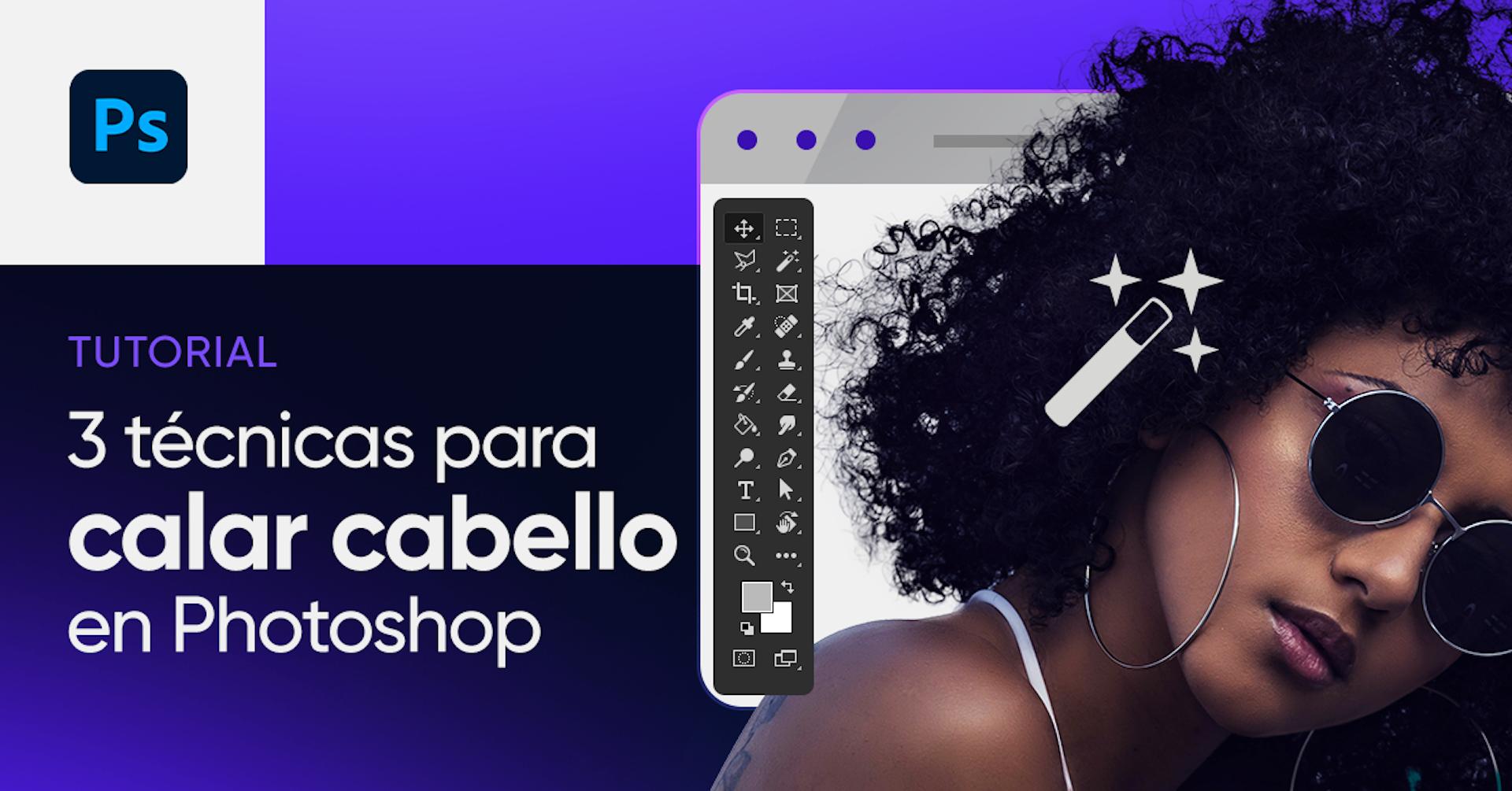 Descubre cómo recortar pelo en Photoshop con tres poderosas herramientas