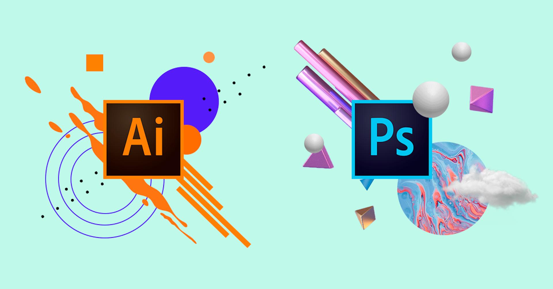 Illustrator vs Photoshop: 10 diferenças ao usar estas ferramentas