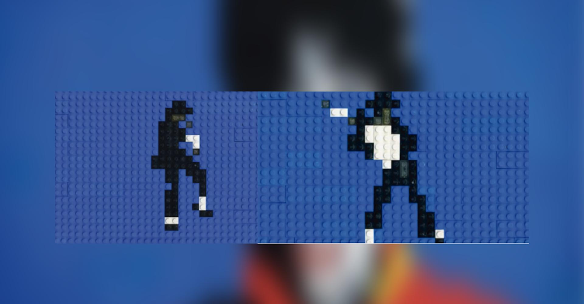 Stop Motion del baile de Michael Jackson