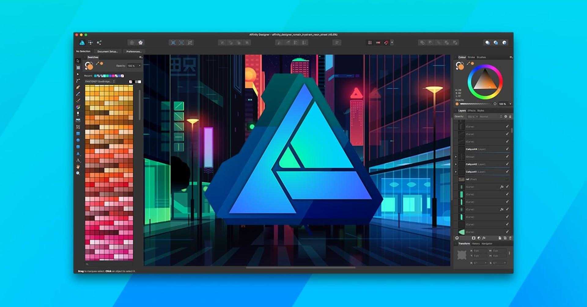 Conoce Affinity Designer, la alternativa de Illustrator