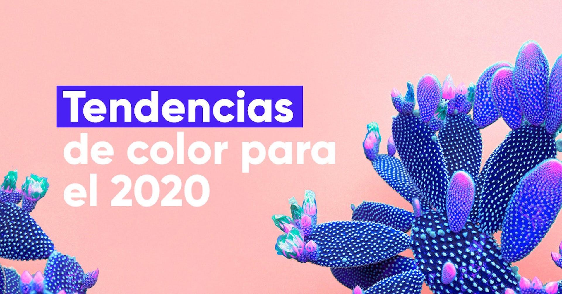 Colores tendencia 2020