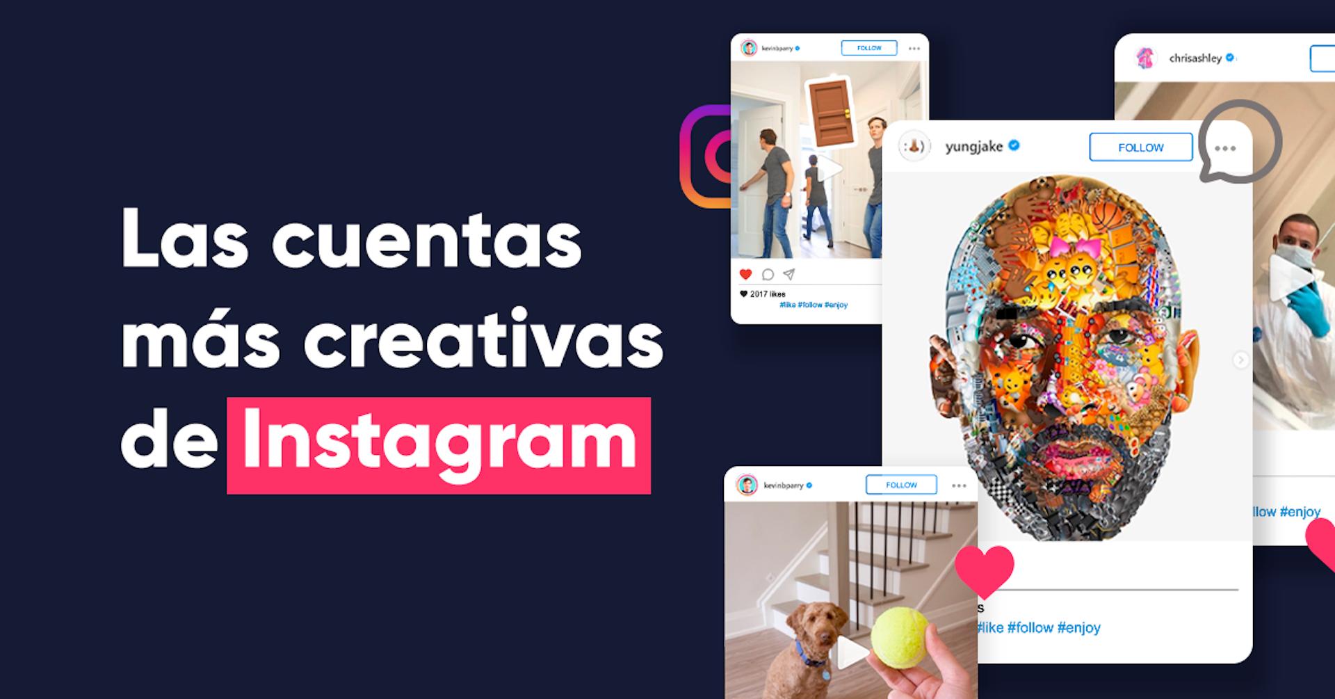 Las 10 cuentas de Instagram más creativas que debes seguir