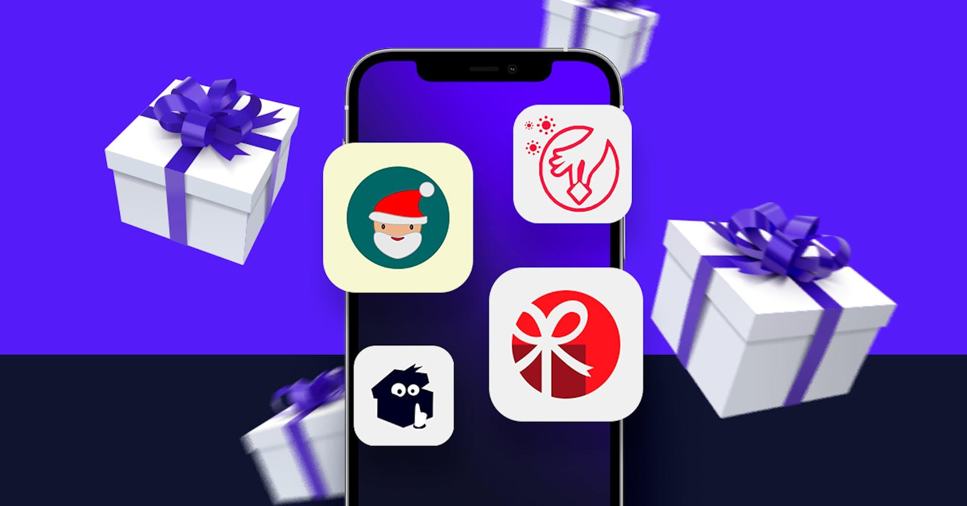 ¡Todos con sus regalos! Aplicaciones para amigo secreto virtual
