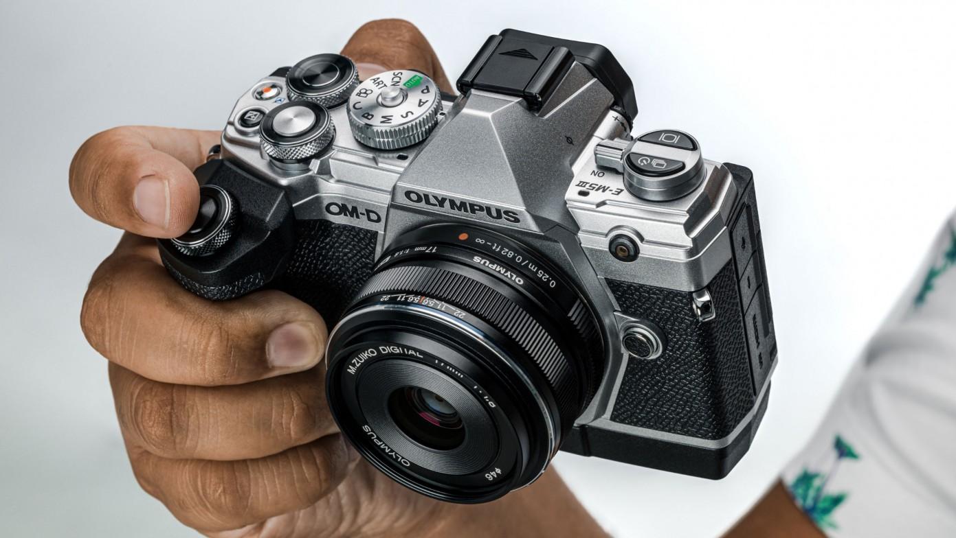Mejores cámaras fotográficas profesionales: Olympus OM-D E-M5 Mark III
