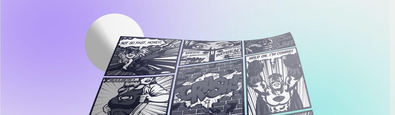 Conoce los recursos gráficos de una historieta y crea cómics alucinantes