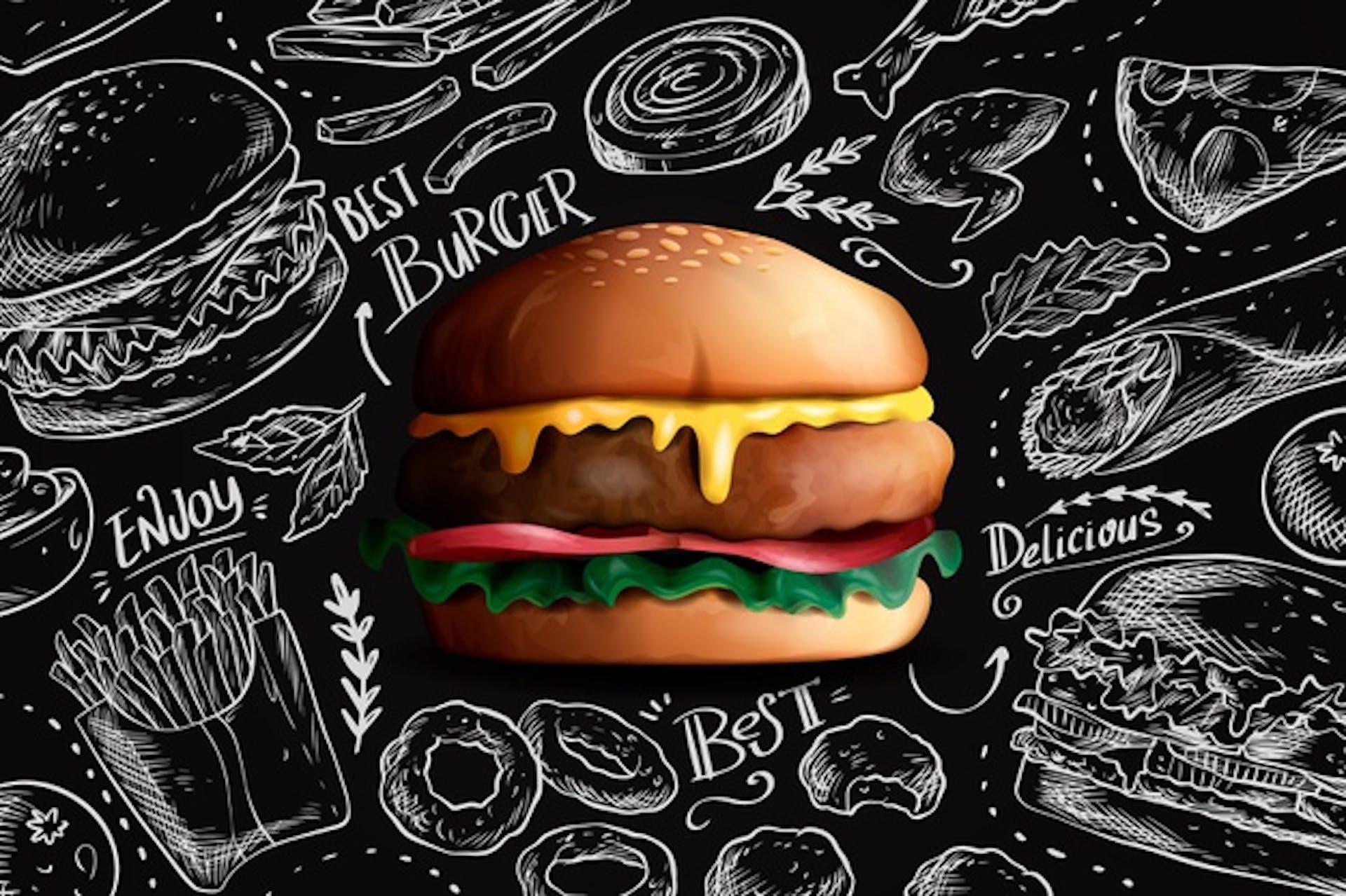 La fabulosa historia de las hamburguesas que seguro desconocías