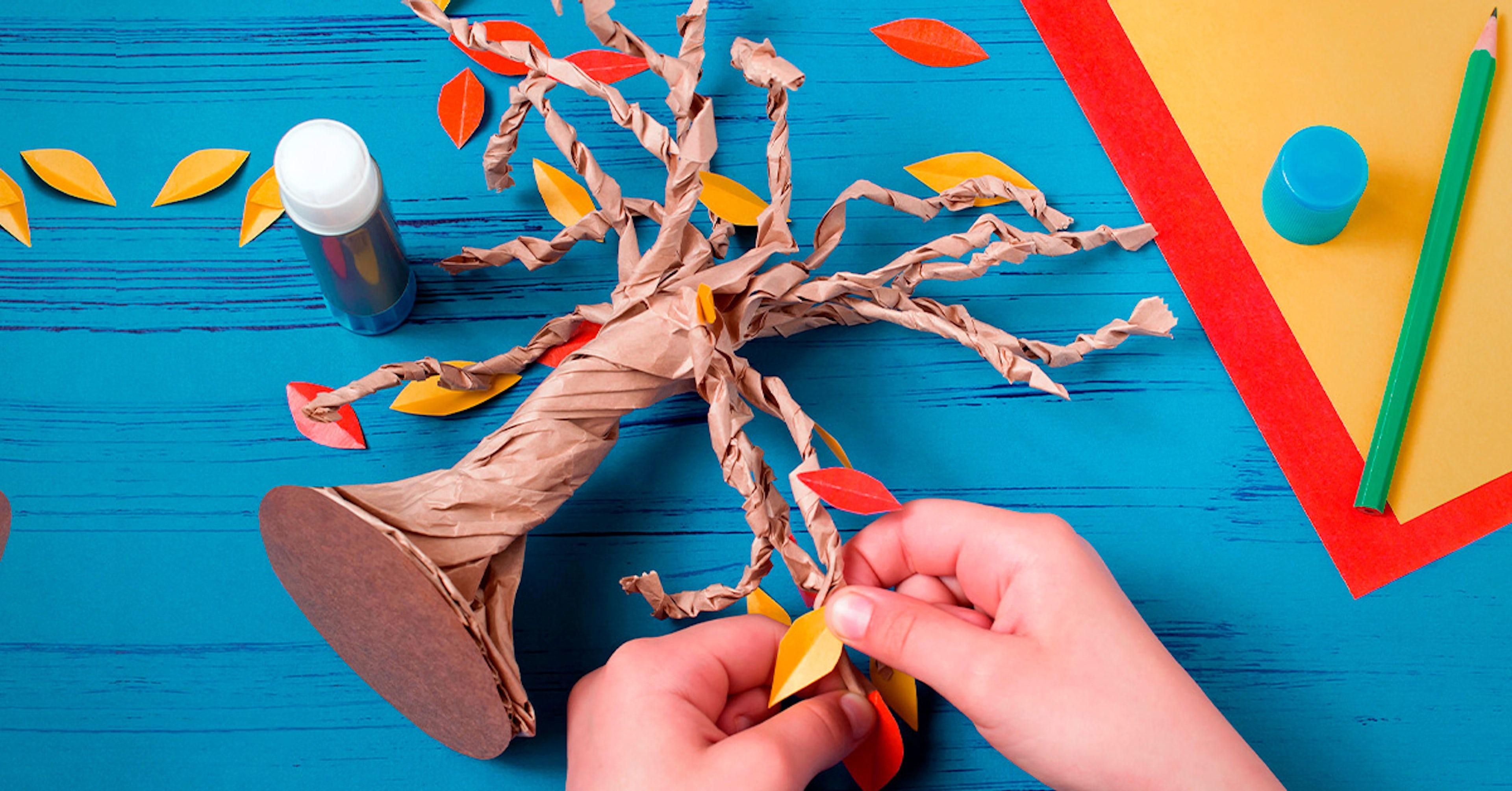 Artesanato para crianças: motive sua criatividade