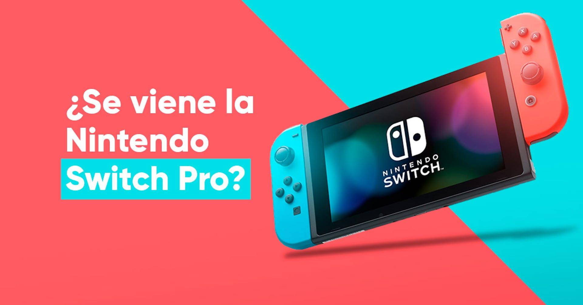 ¿Se viene una versión Pro de Nintendo Switch?