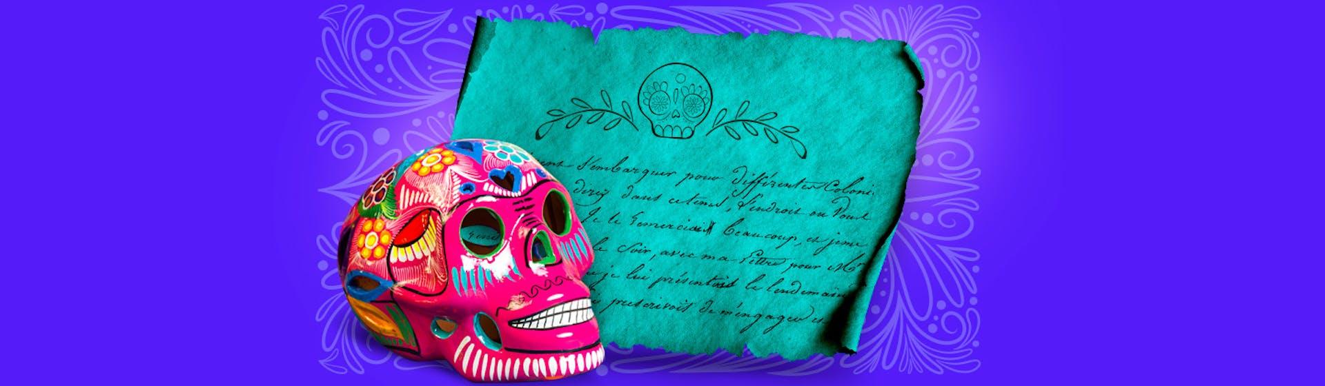 ¿Cómo hacer una calaverita literaria para celebrar el Día de Muertos?