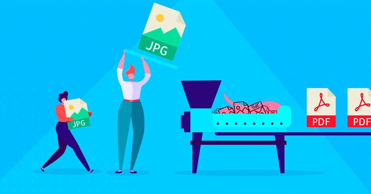 ¿Cómo convertir de jpg a pdf? Aquí  5 opciones para convertir archivos