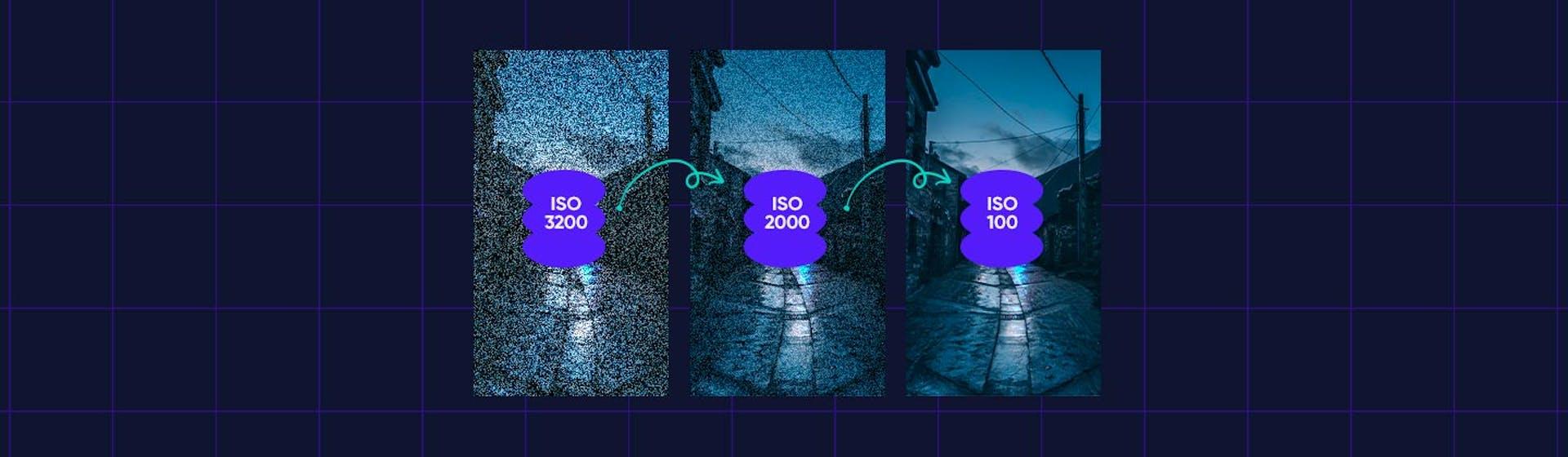 ¡Tu foto nítida y sin ruido digital! Capta imágenes sin esos molestos puntos