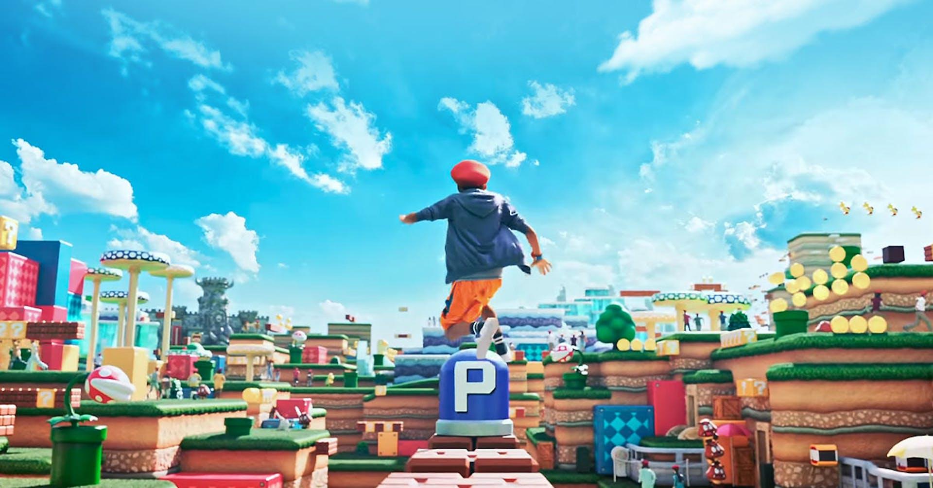 Todo sobre el nuevo parque temático de Super Mario World