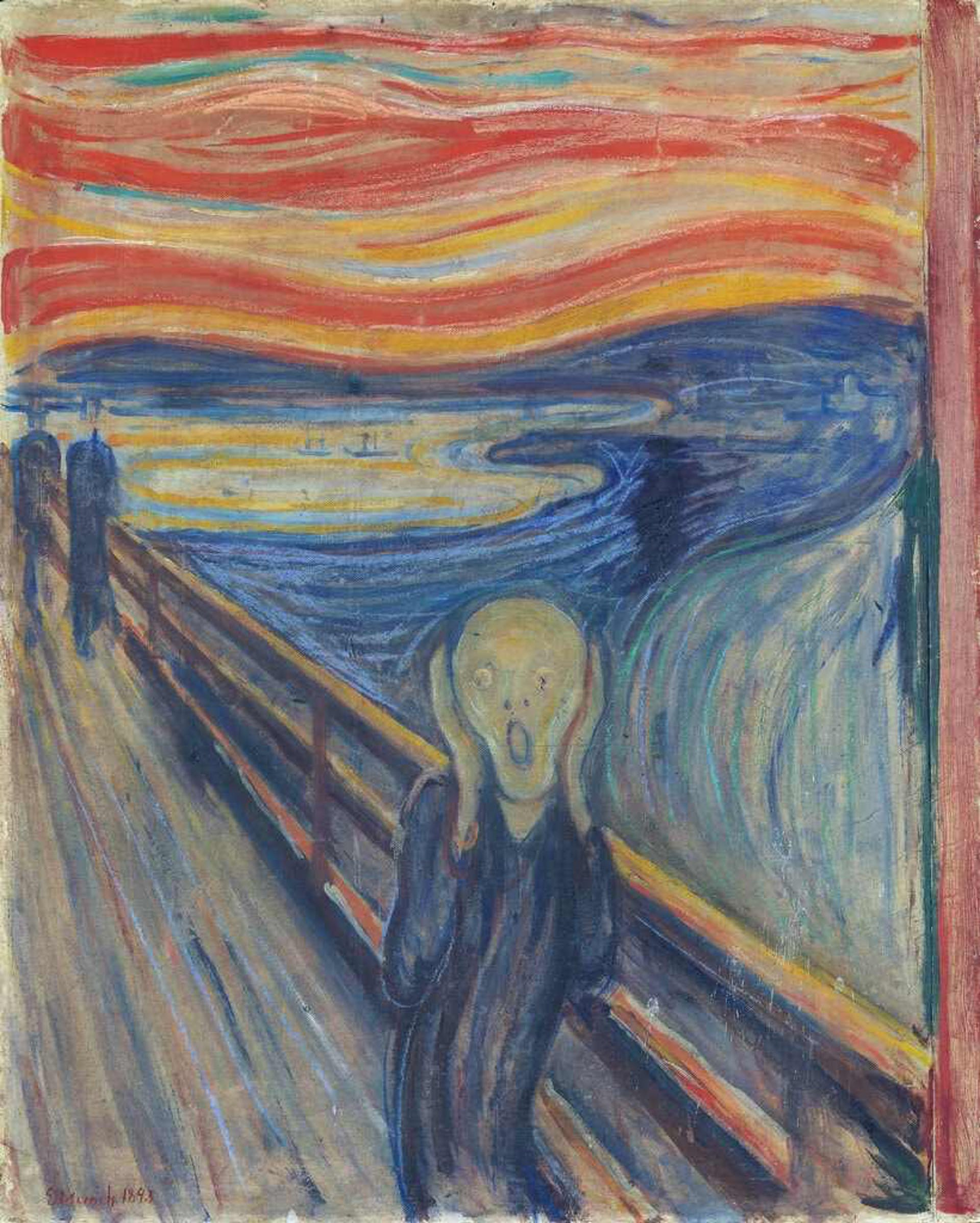 ¿Edvard Munch 'vandalizó' su propia obra?