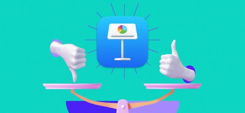 Apple Keynote: ventajas y desventajas del diseñador de diapositivas de Apple