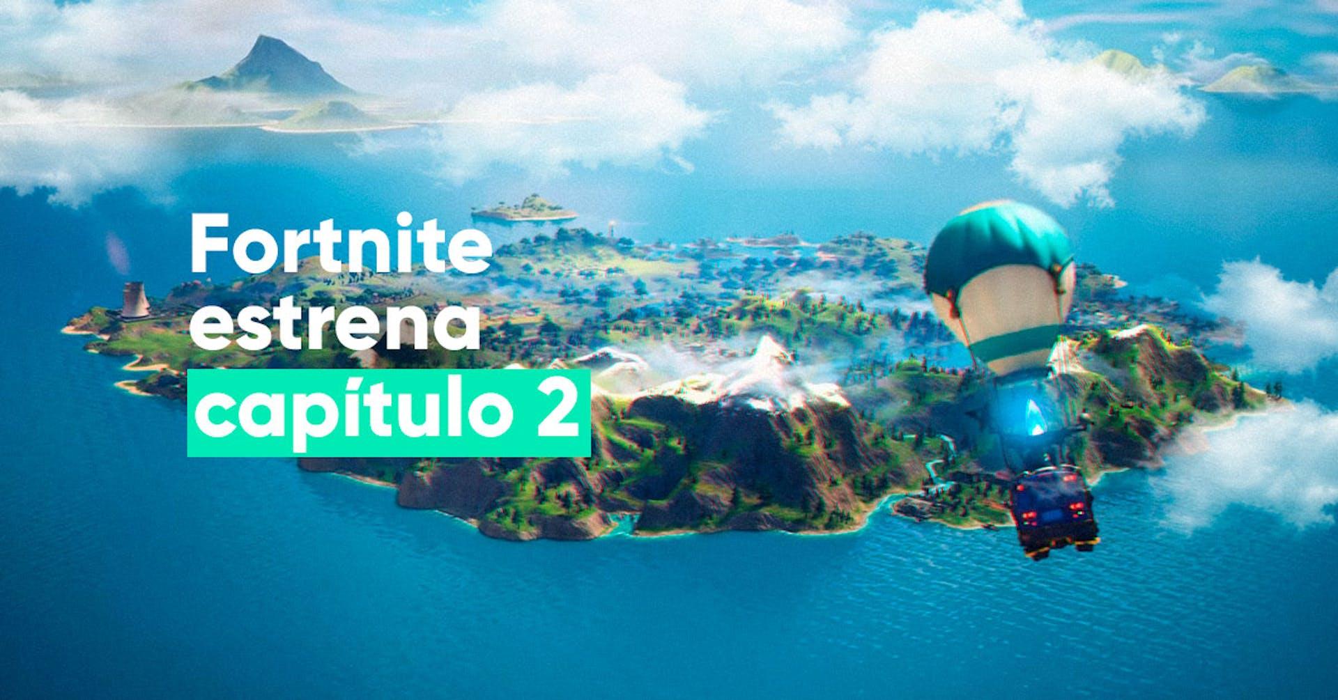 Fortnite estrena Capítulo 2 y nuevo mundo