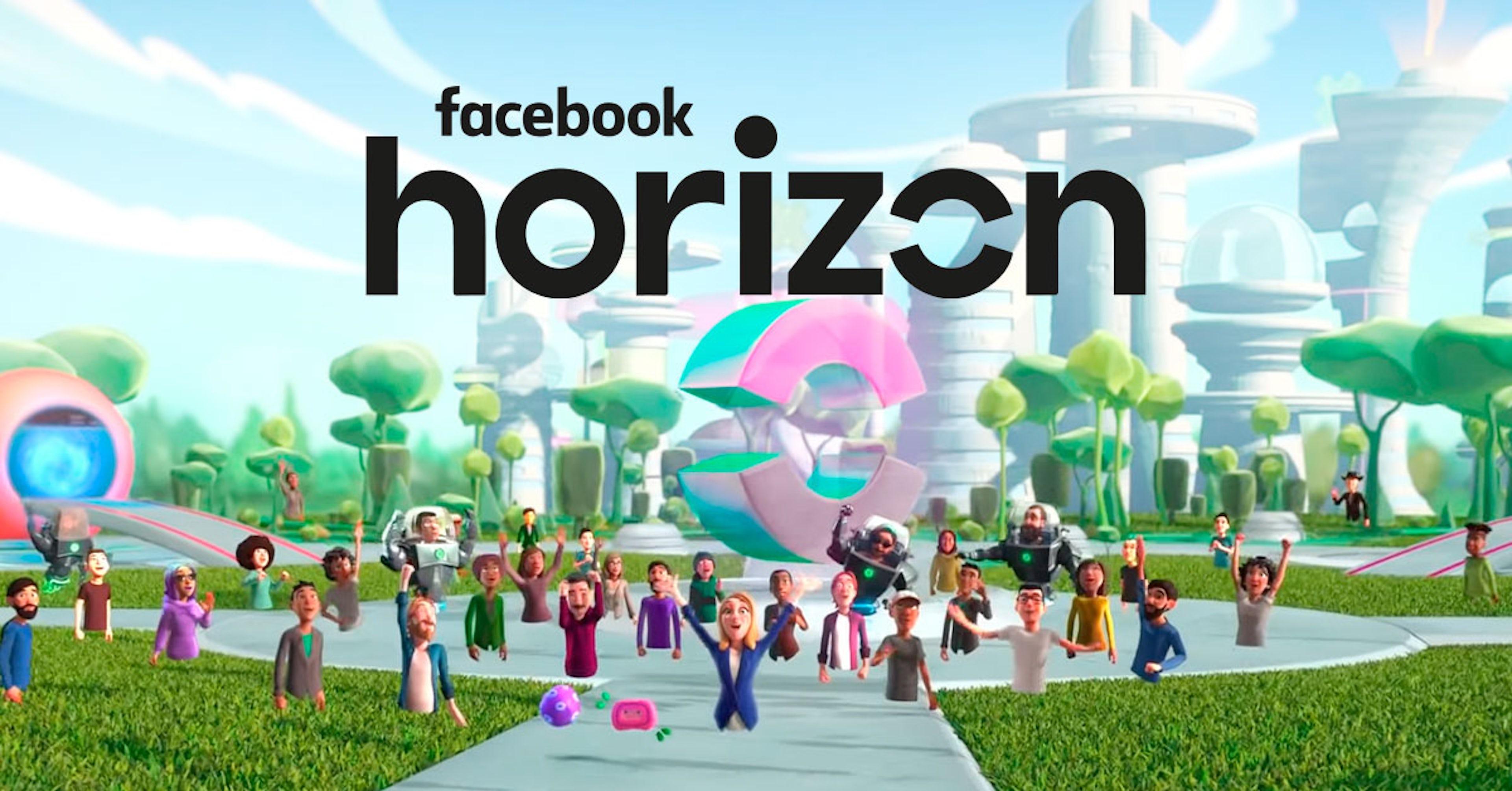 Ya existe un universo virtual en Facebook. Se llama Facebook Horizon, conócelo aquí