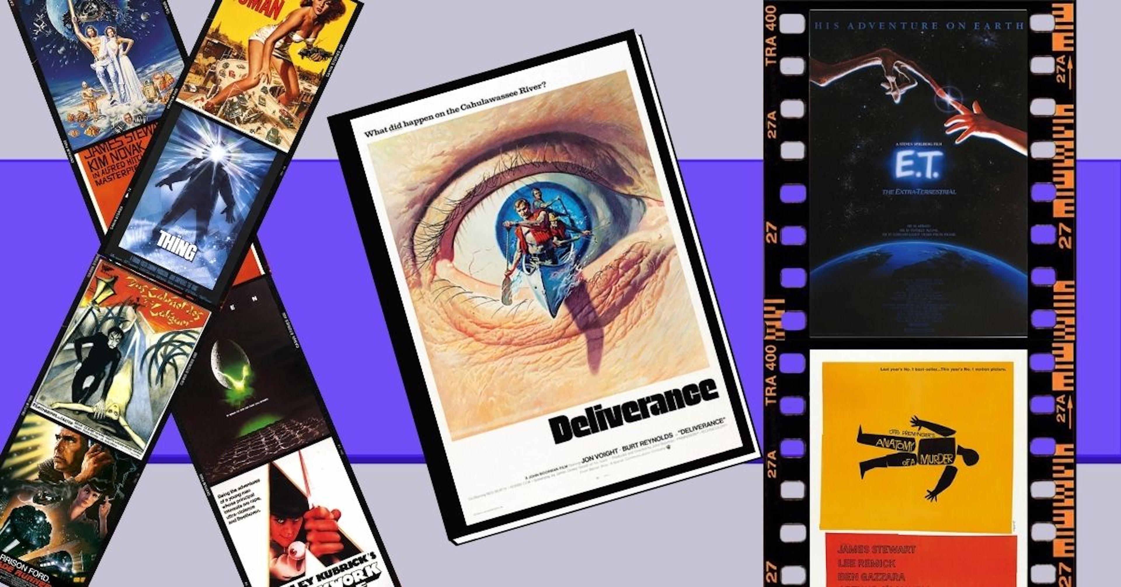 10 carteles de cine antiguo que brillan por su originalidad y estética