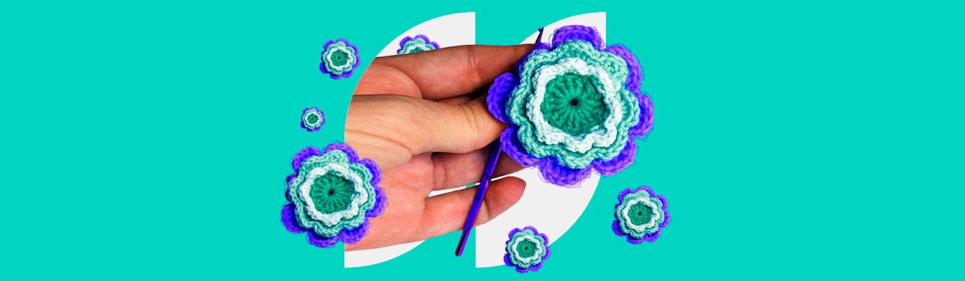 ¿Cómo hacer rosas en crochet? Una guía práctica que enamora a cualquiera