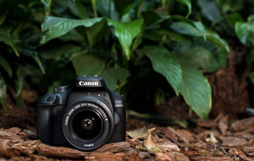 Mejores cámaras fotográficas profesionales: Canon EOS 4000D