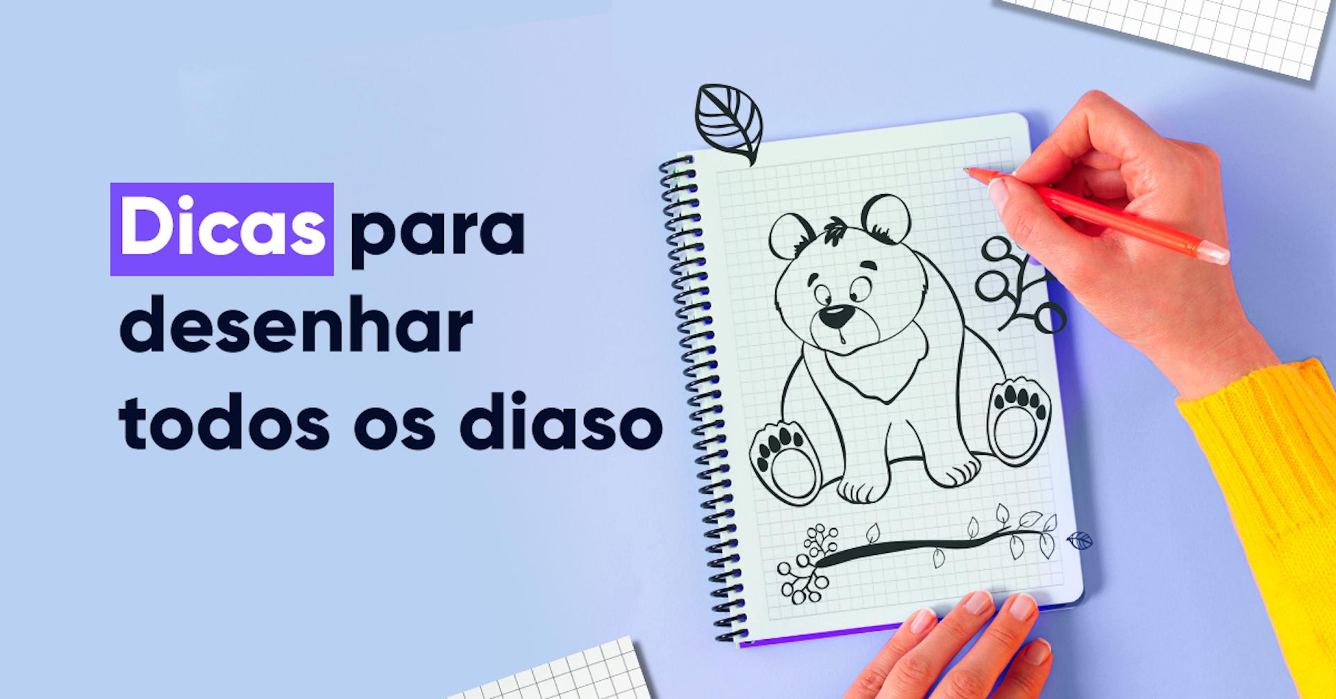 Desenho à mão: dicas para criar diariamente